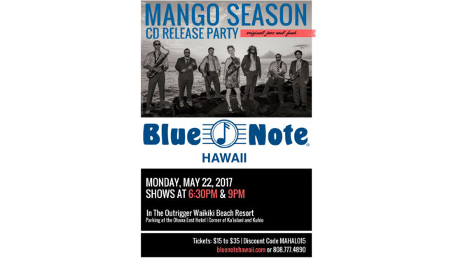 Mango Season Music at the Blue Note